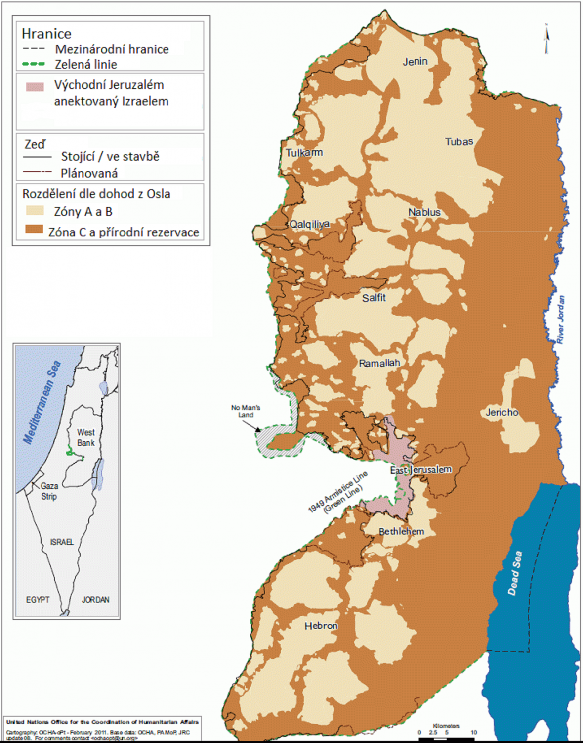 Západní břeh Jordánu