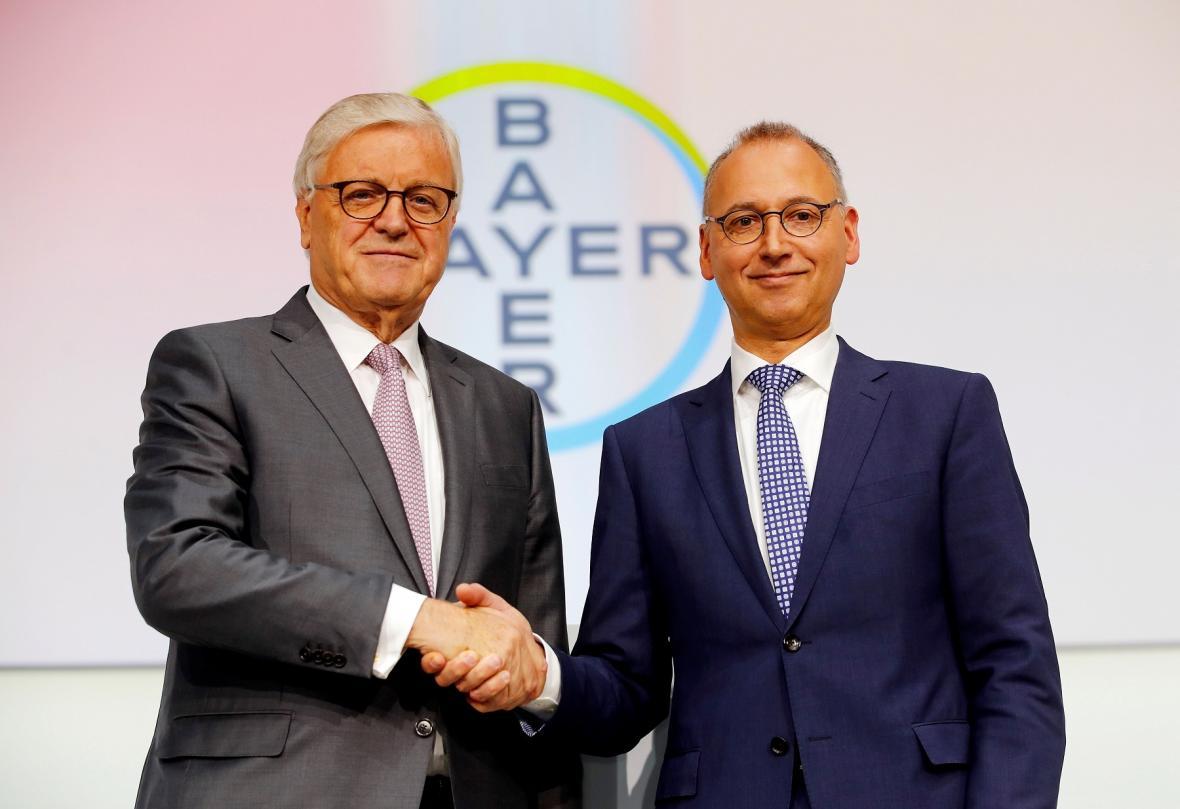 Werner Wenning (vlevo) a Werner Baumann