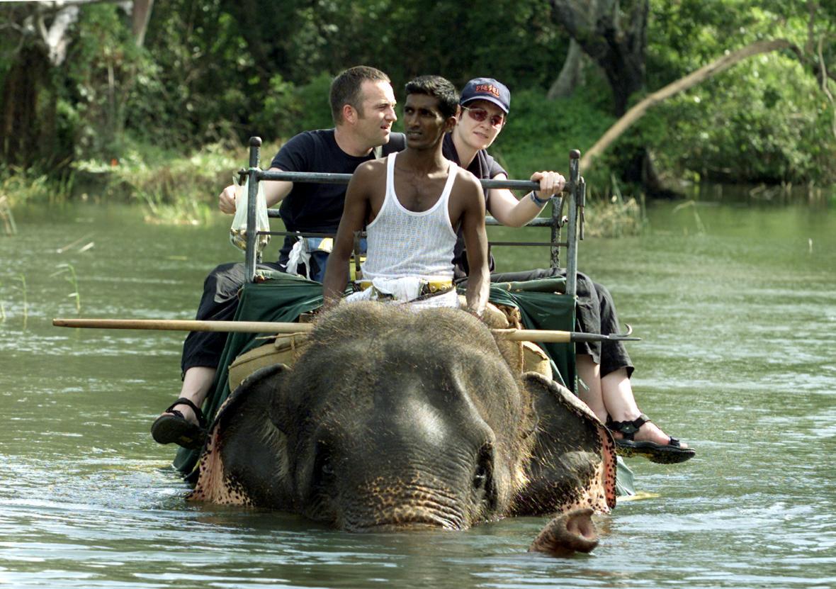 Sloní safari v Habaraně, Srí Lanka