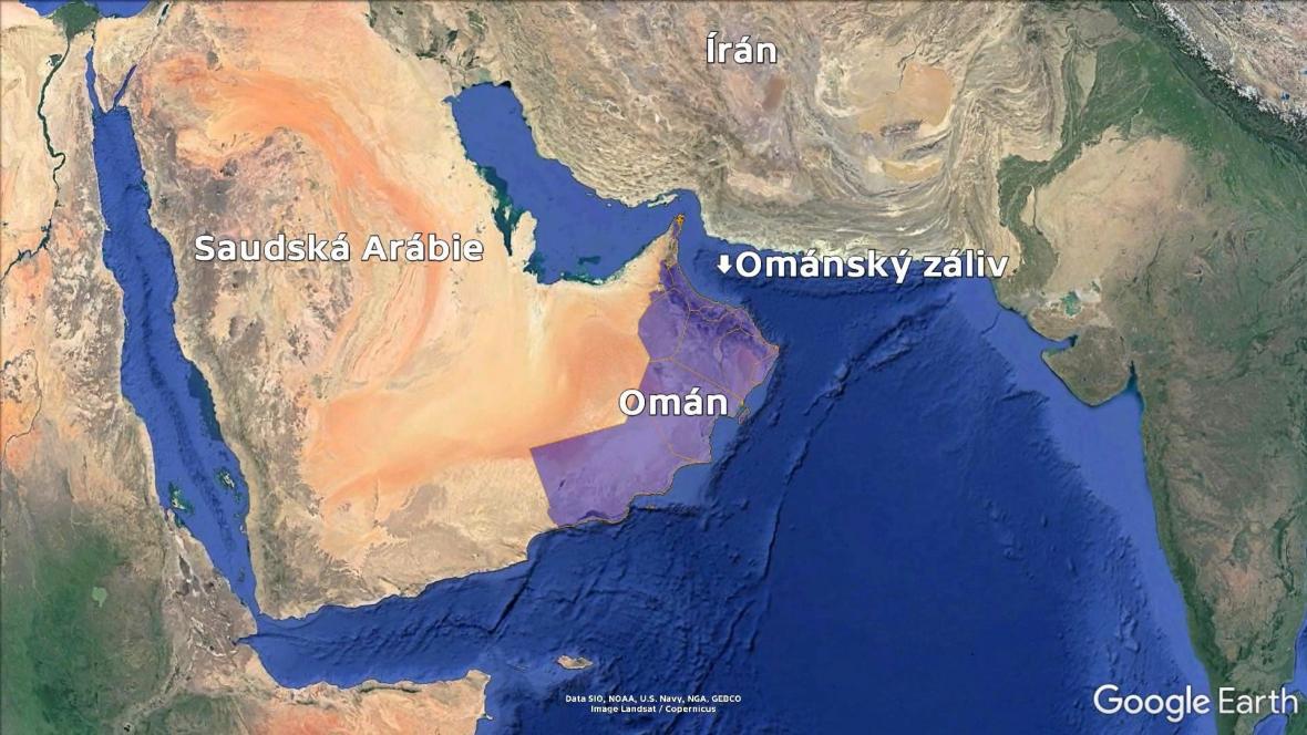Ománský záliv