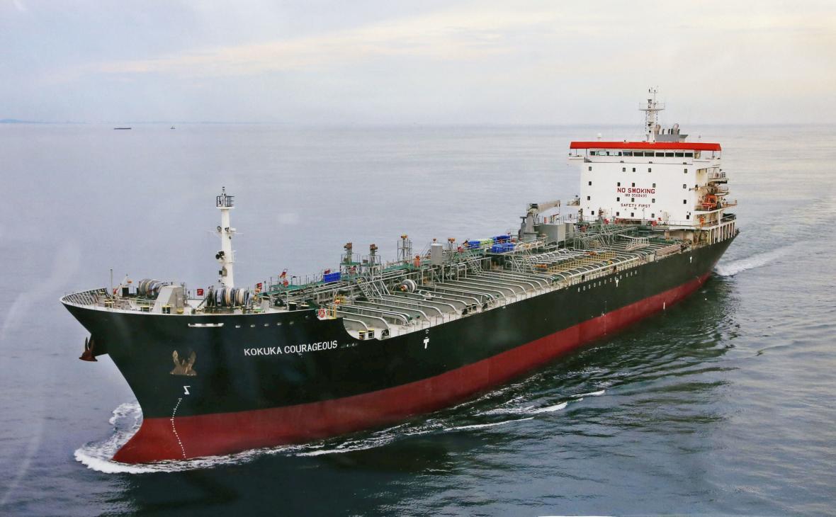 Japonský tanker Kokuka Courageous