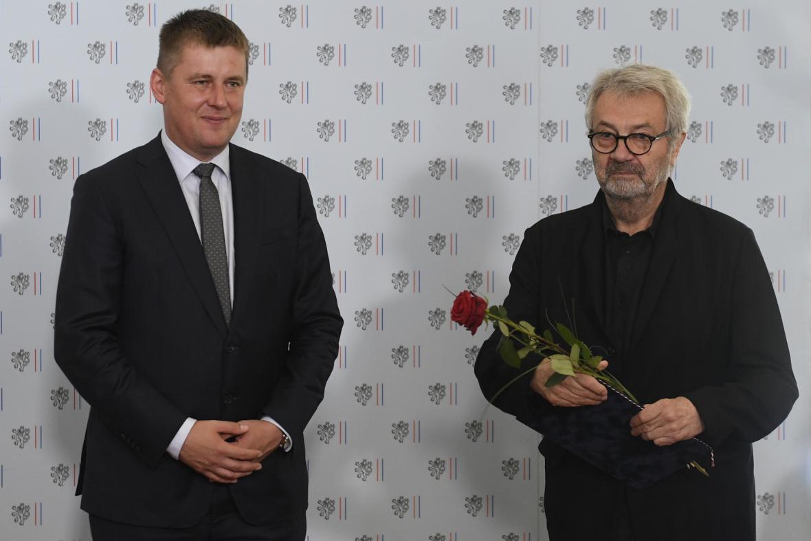 Oceněný Dušan Robert Pařízek