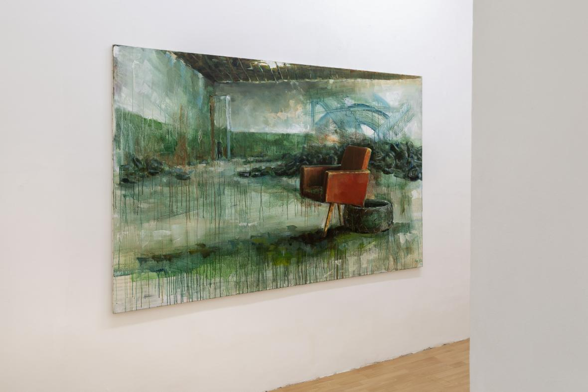 Matěj Rejl / Red chair I., 2017