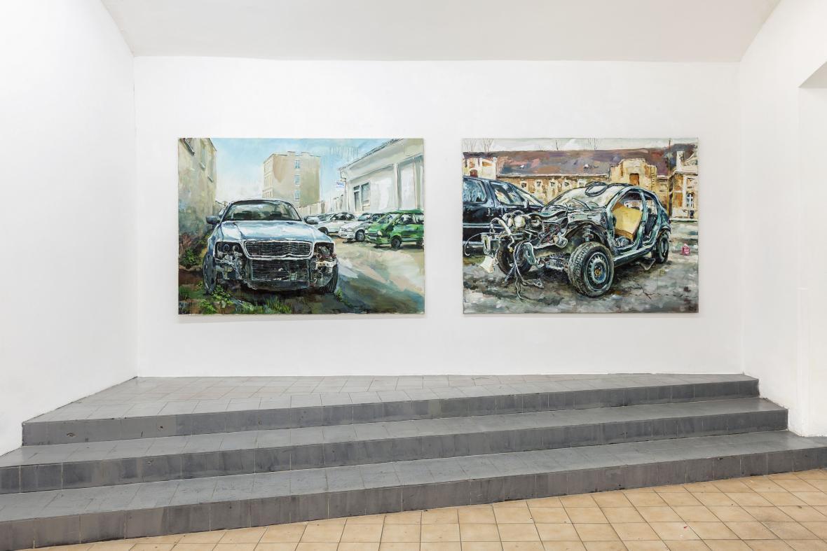 Matěj Rejl / Vrak IV., 2016 a Vrak III., 2014