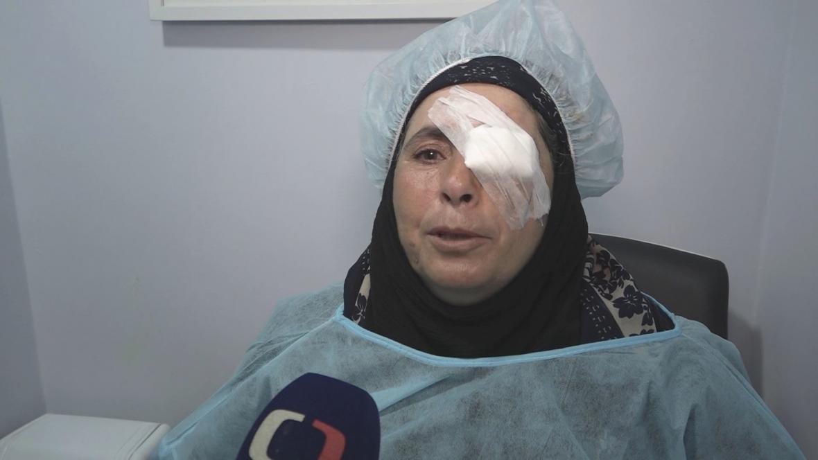 Syřanka Halíma má díky českým lékařům zrak opět v pořádku