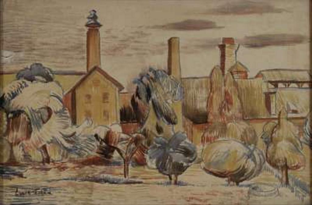 Emil Filla / Pivovar, kolem 1910
