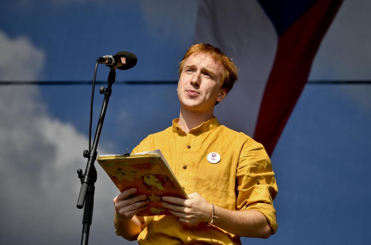 Organizátor Mikuláš Minář
