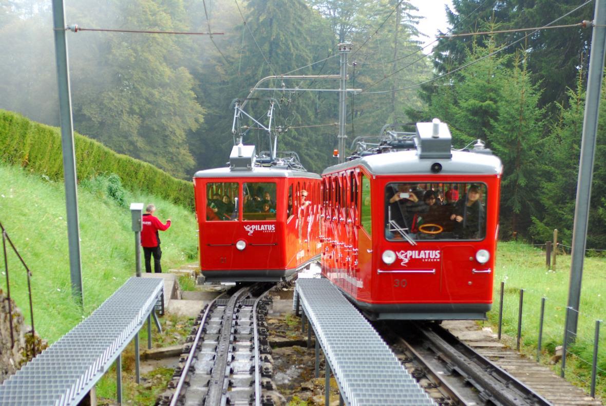Vozy Pilatusbahn