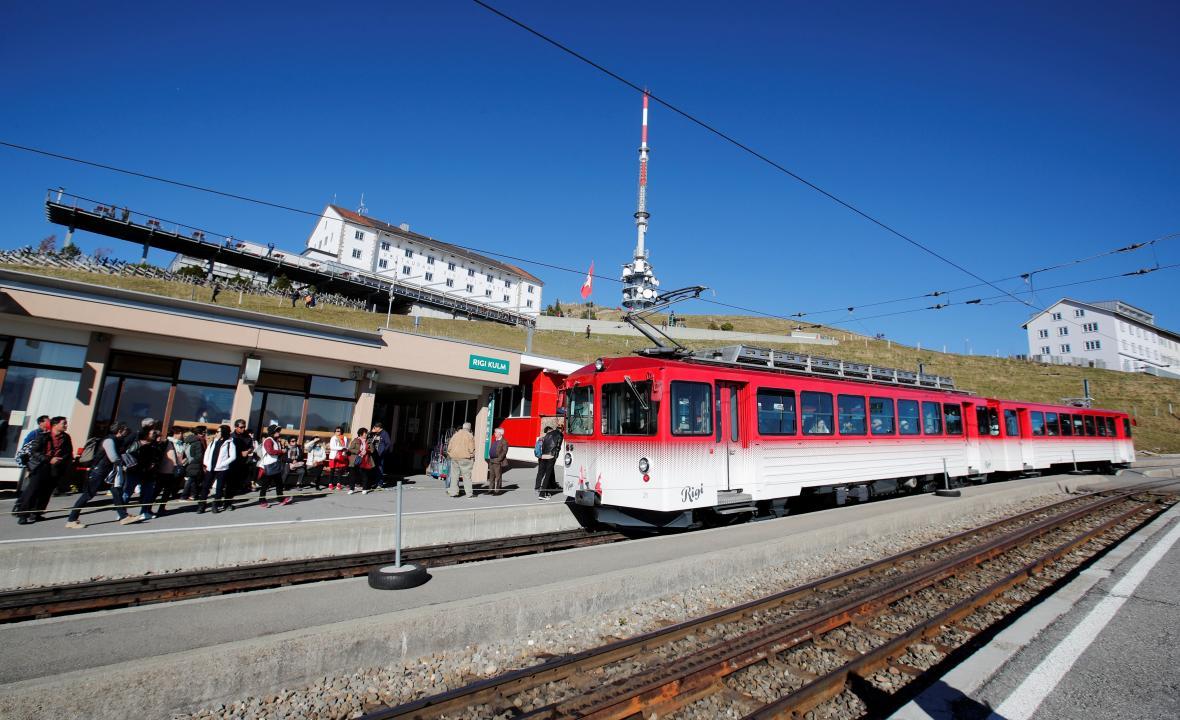 Vlak na Rigi