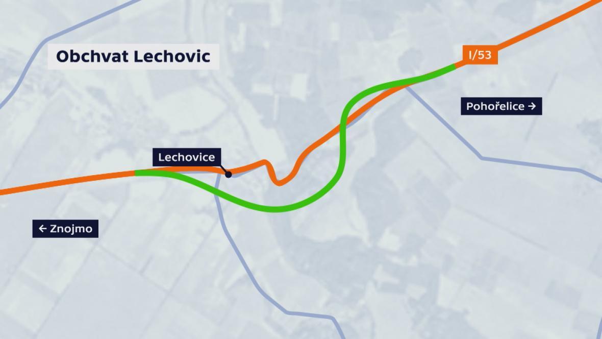 Obchvat Lechovic