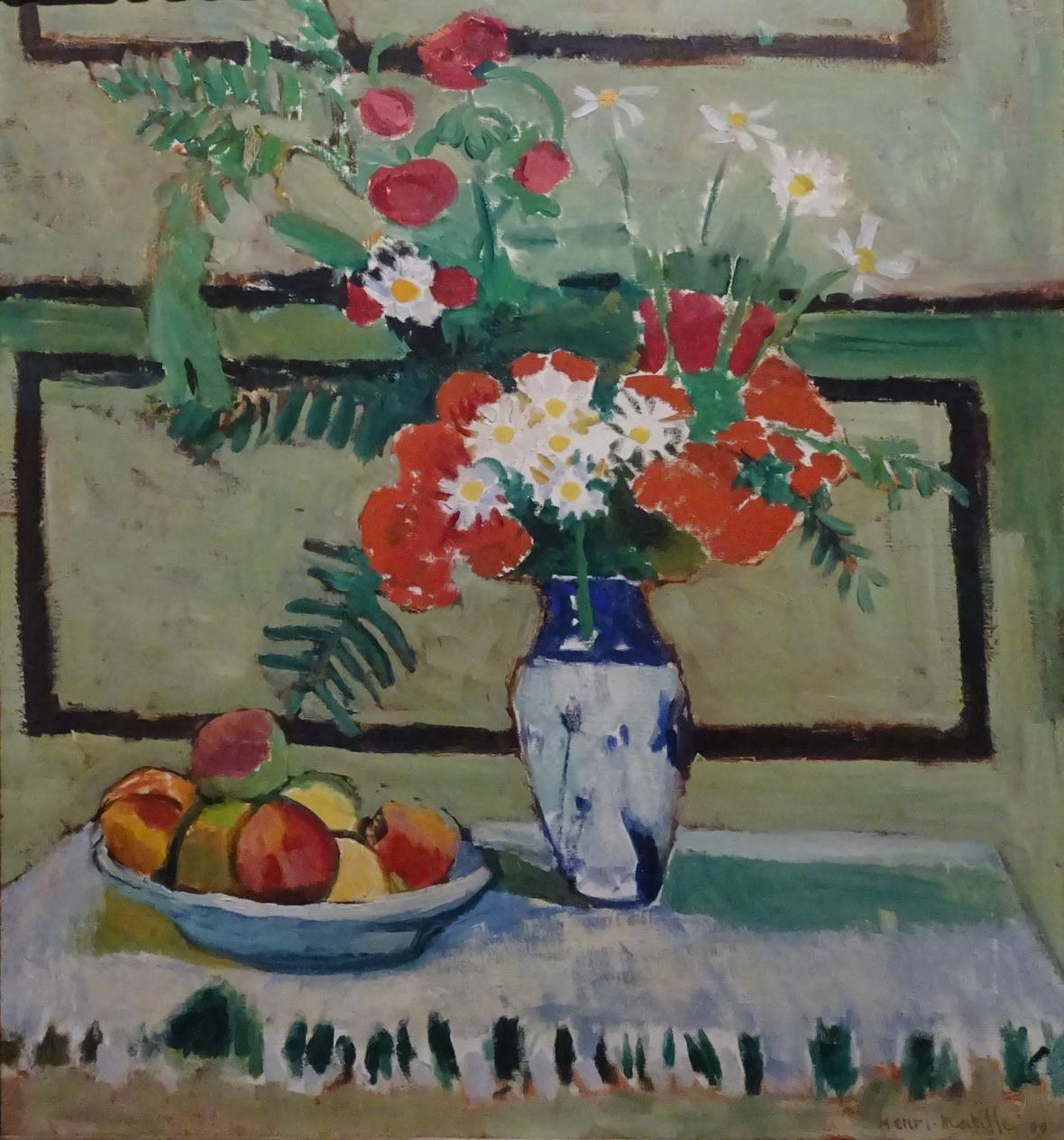 Henri Matisse / Květiny a ovoce, 1909