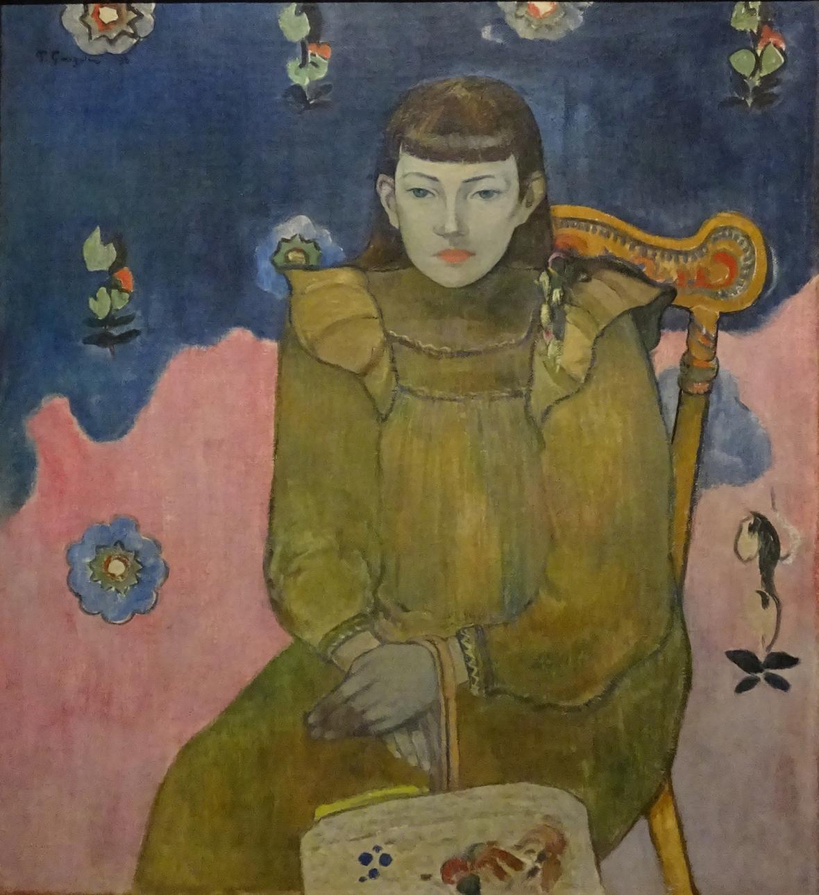 Paul Gauguin / Portrét mladé ženy, Vaïte (Jeanne) Goupil, 1896