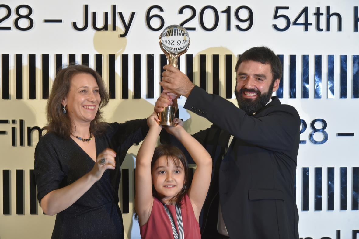 Vítězové hlavní ceny 54. KVIFF: Kristina Grozevová a Petar Valčanov
