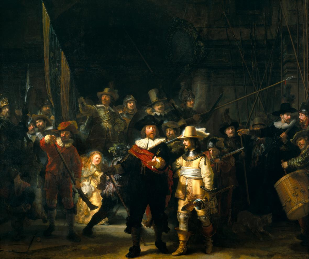 Rembrandt van Rijn - Noční hlídka (1642)