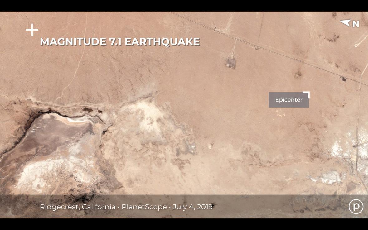 Před zemětřesením