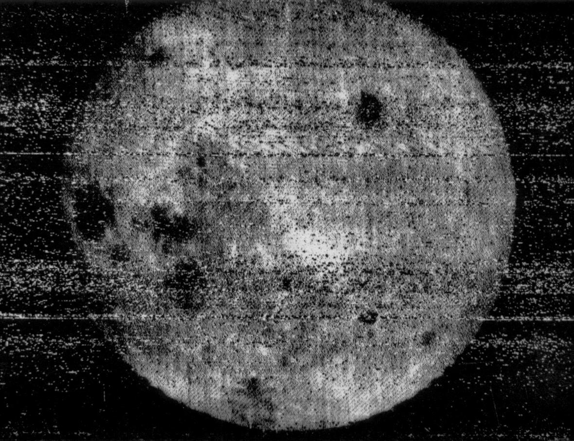 Snímek odvrácené strany Měsíce