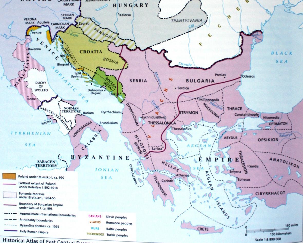Balkán na přelomu 10. a 11. století