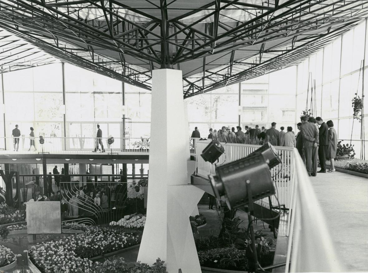 Víceúčelový pavilon A, Výstaviště Flora Olomouc, 1965–66