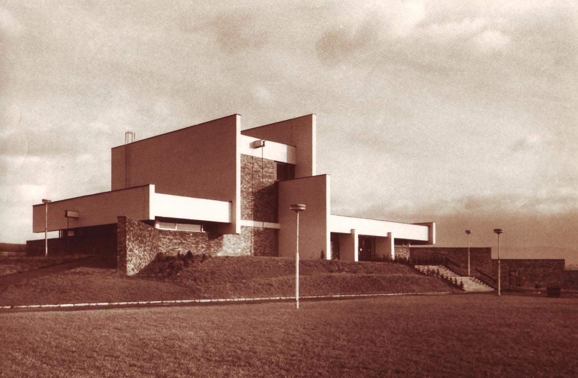 Krematorium v Šumperku, 1974–1977