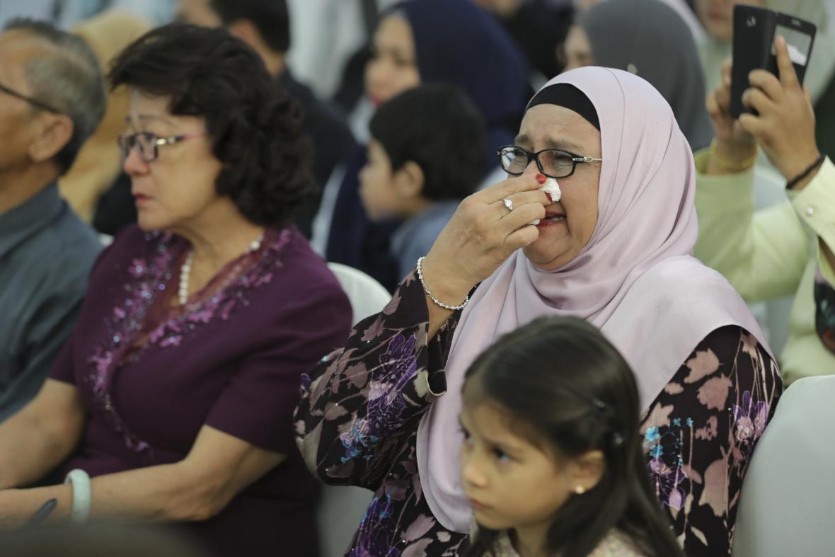 Pietní akt v Malajsii