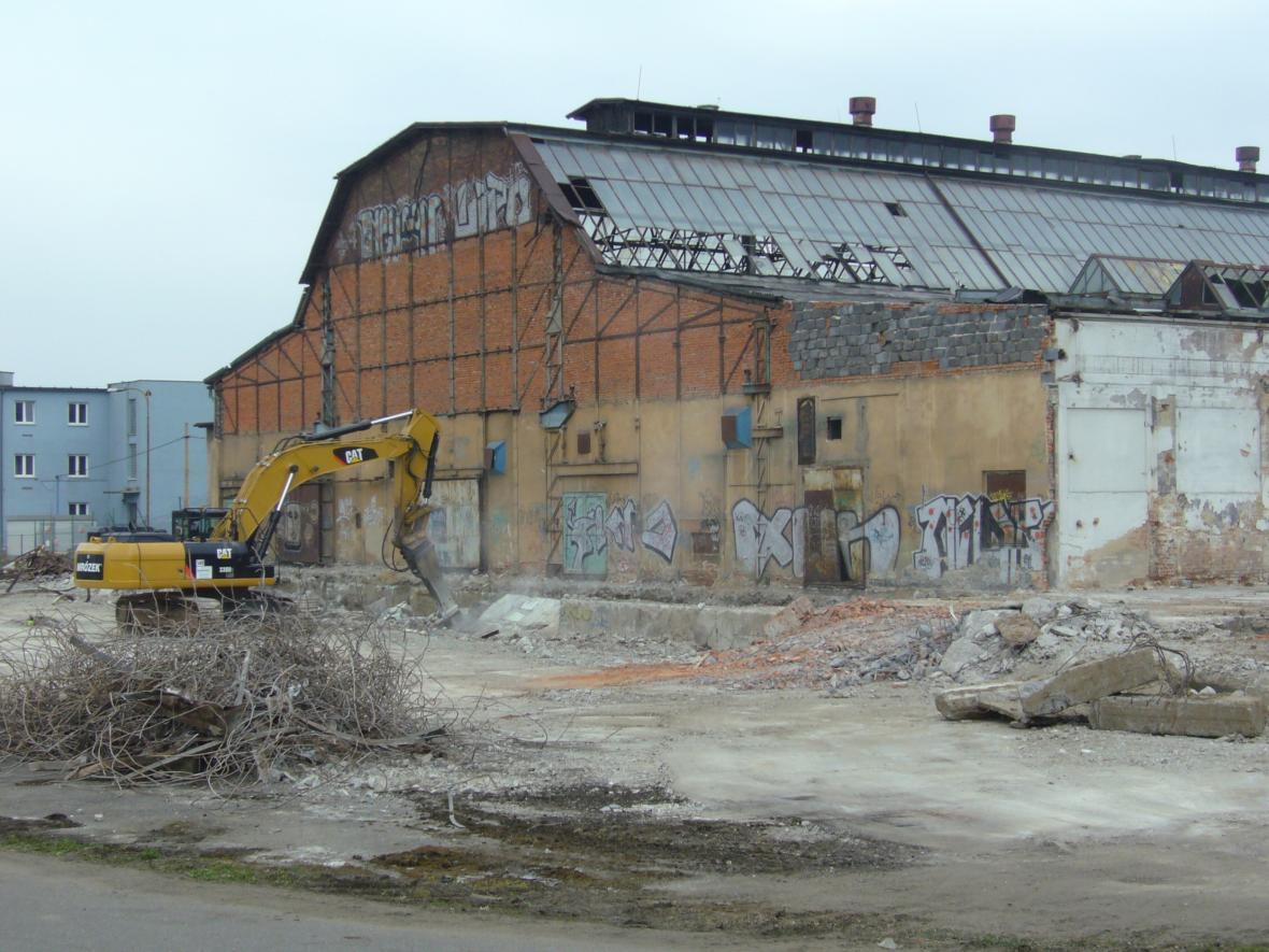Objekt bývalé slévárny před rekonstrukcí