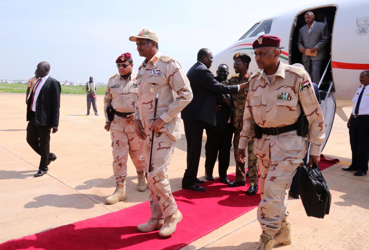 Súdánský generál Mohamed Hamdan Dagalo
