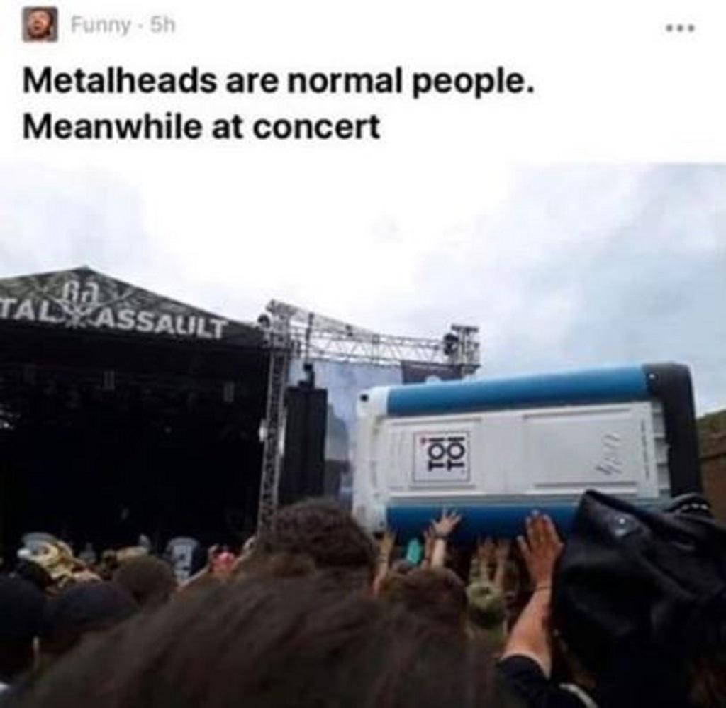 Koncert Gutalax se stal jedním z námětů populárních meme na Facebooku