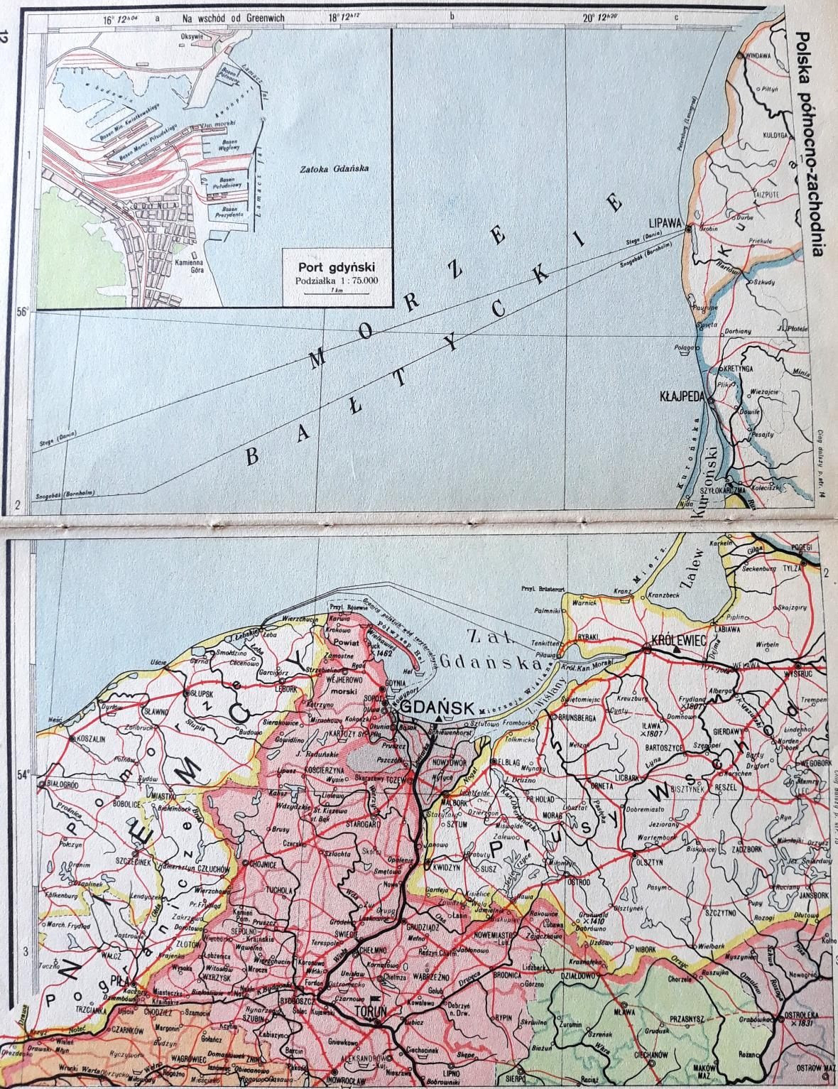 Gdaňsk a jeho okolí v meziválečném období