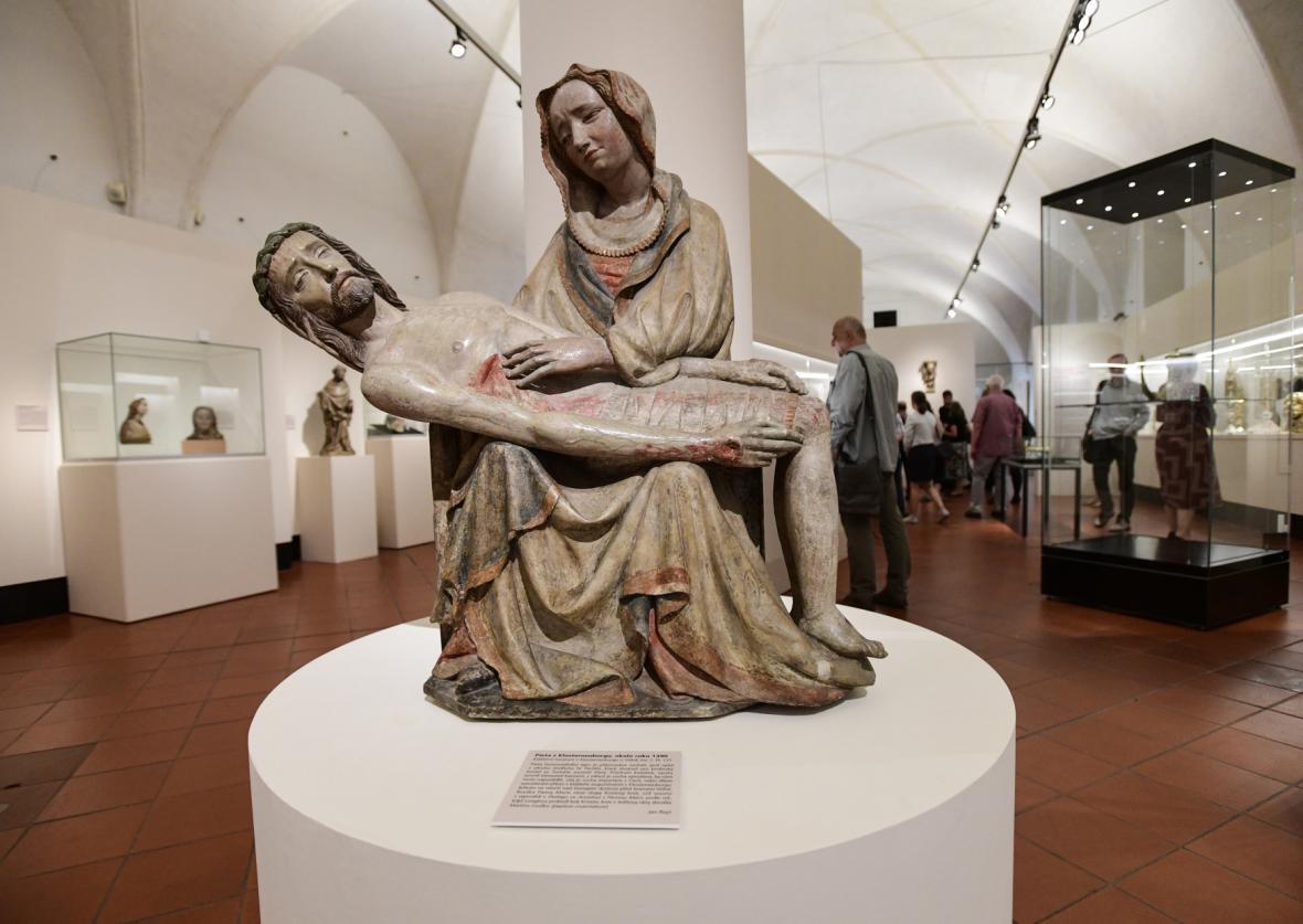 Pieta z Klosterneuburgu, okolo roku 1390
