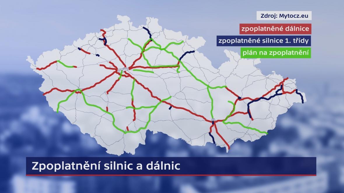 Zpoplatnění silnic a dálnic