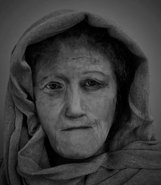 Rekonstrukce tváře druidky