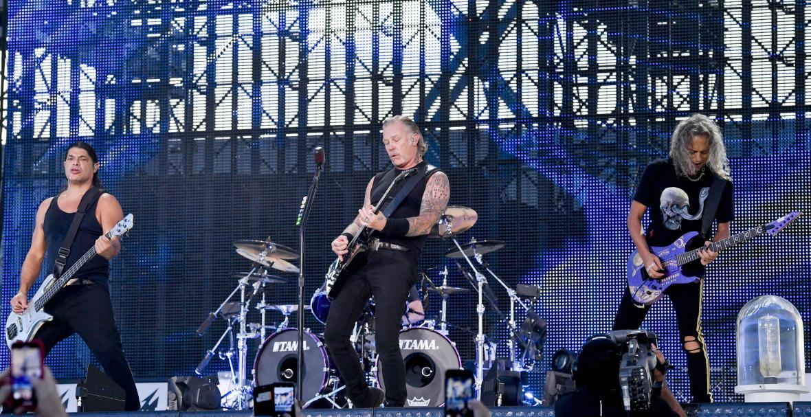 Koncert kapely Metallica v Praze (2019)