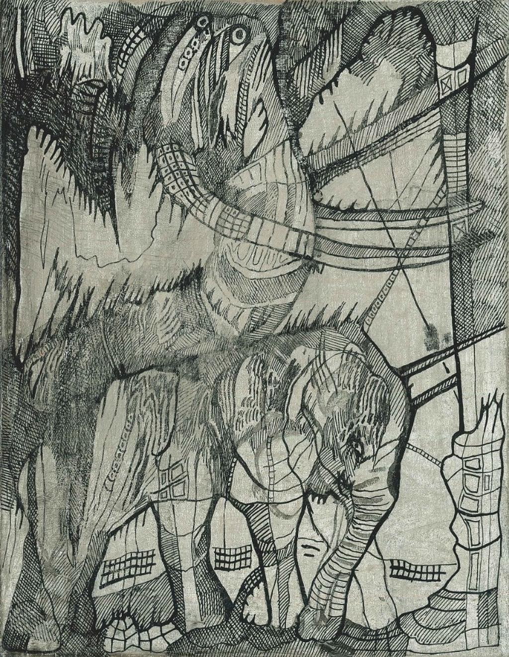 Josef Zlamal / How To Be An Elephant XXIV, 2019