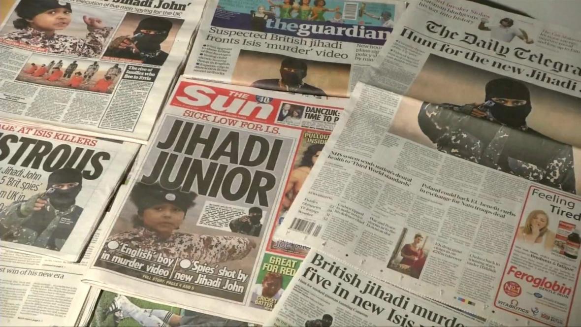 Tisk o britských džihádistech