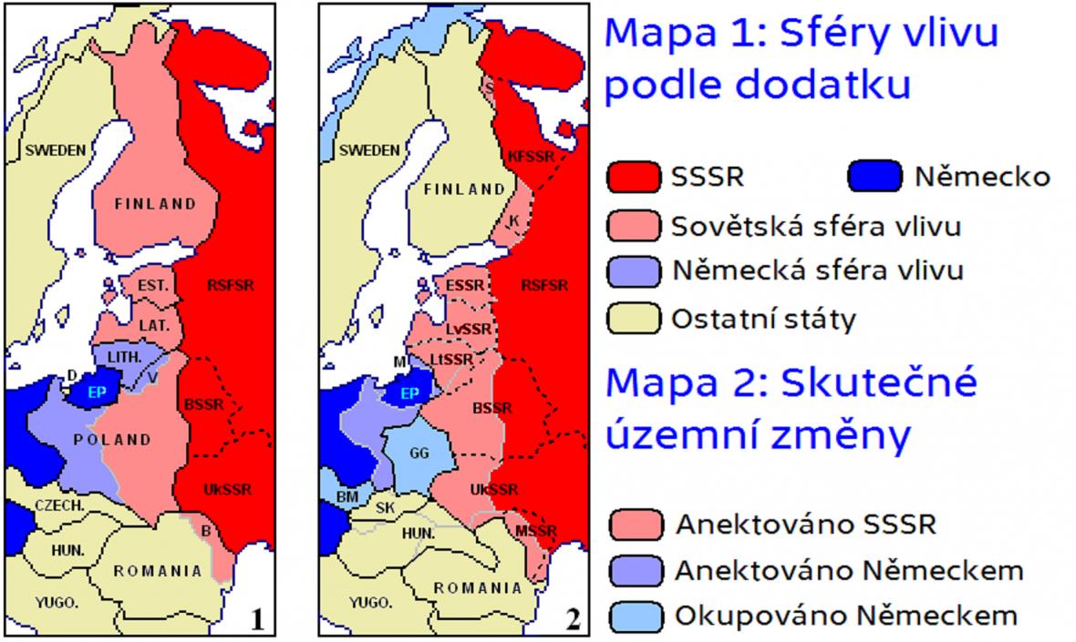 Územní důsledky paktu Molotov-Ribbentrop