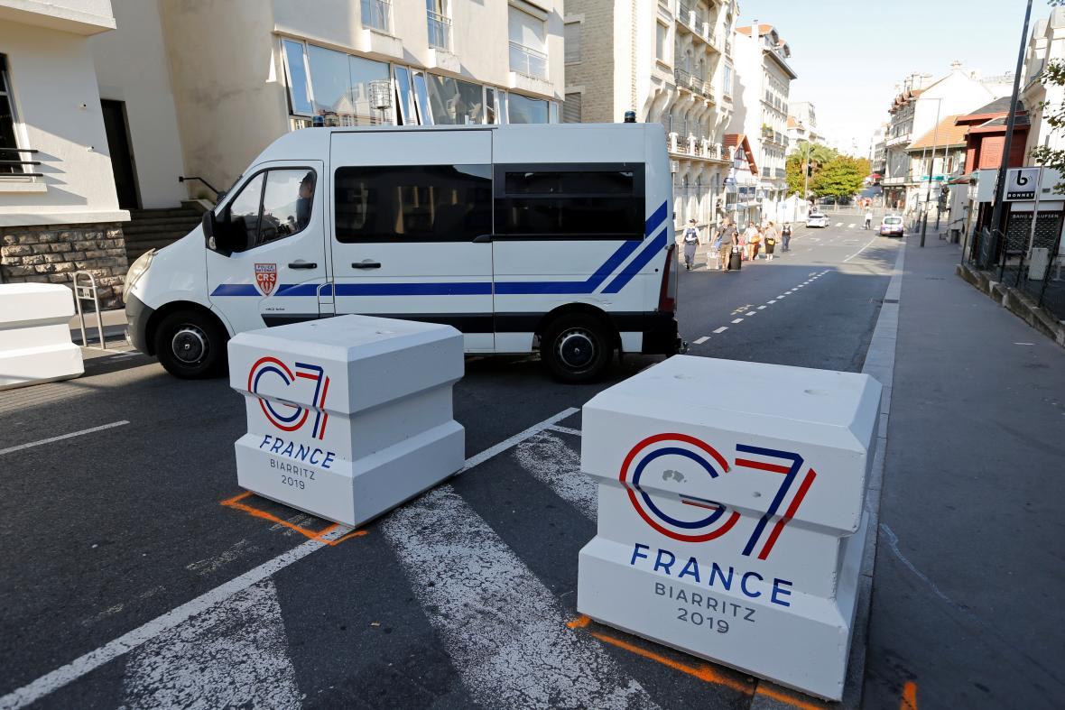 Přísná bezpečnostní opatření v Biarritzu