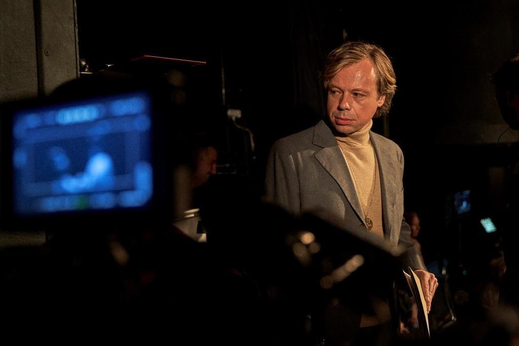Natáčení filmu o Václavu Havlovi