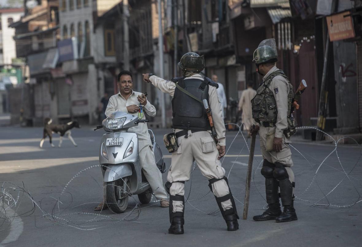 Indické polovojenské síly v Kašmíru