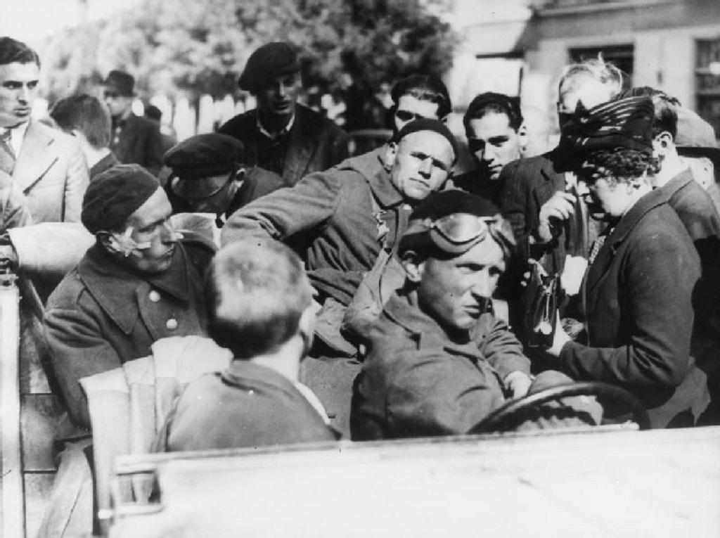 Polští vojáci, kterým se podařilo uprchnout do Rumunska