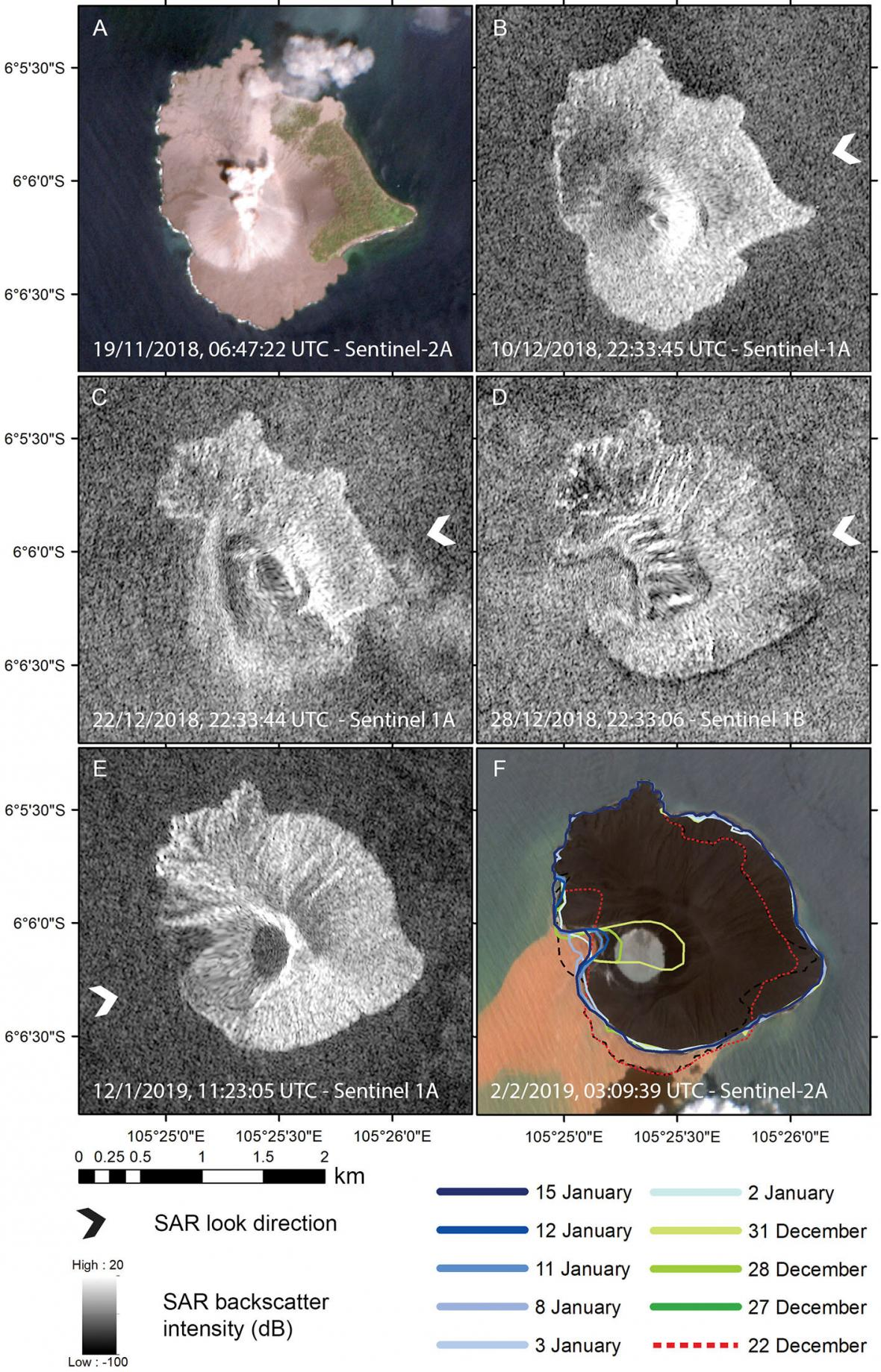 Rekonstrukce kolapsu sopky Krakatau