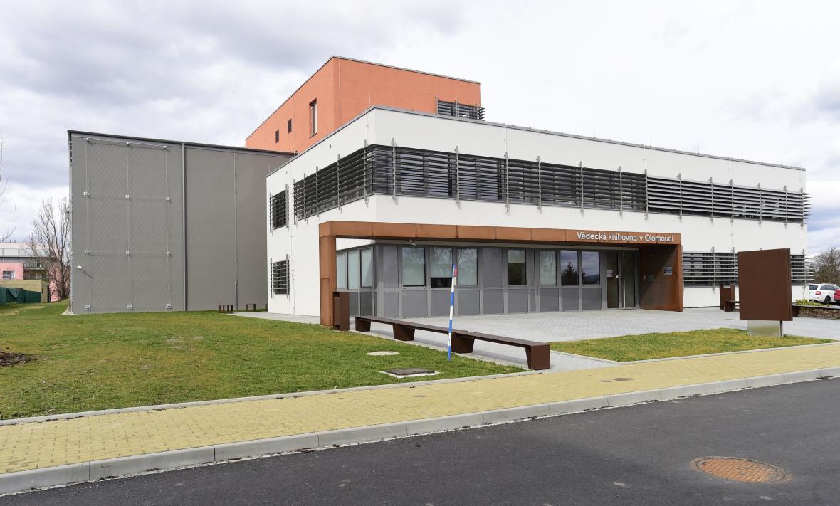 Nový depozitář Vědecké knihovny Olomouc