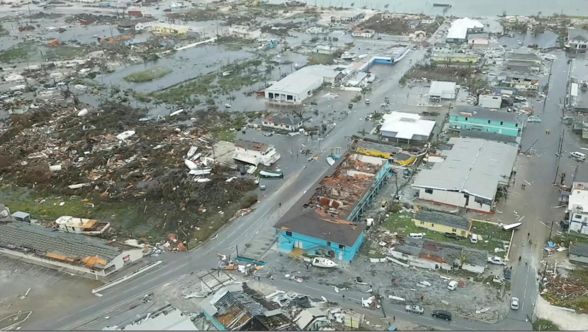 Bahamy po hurikánu Dorian