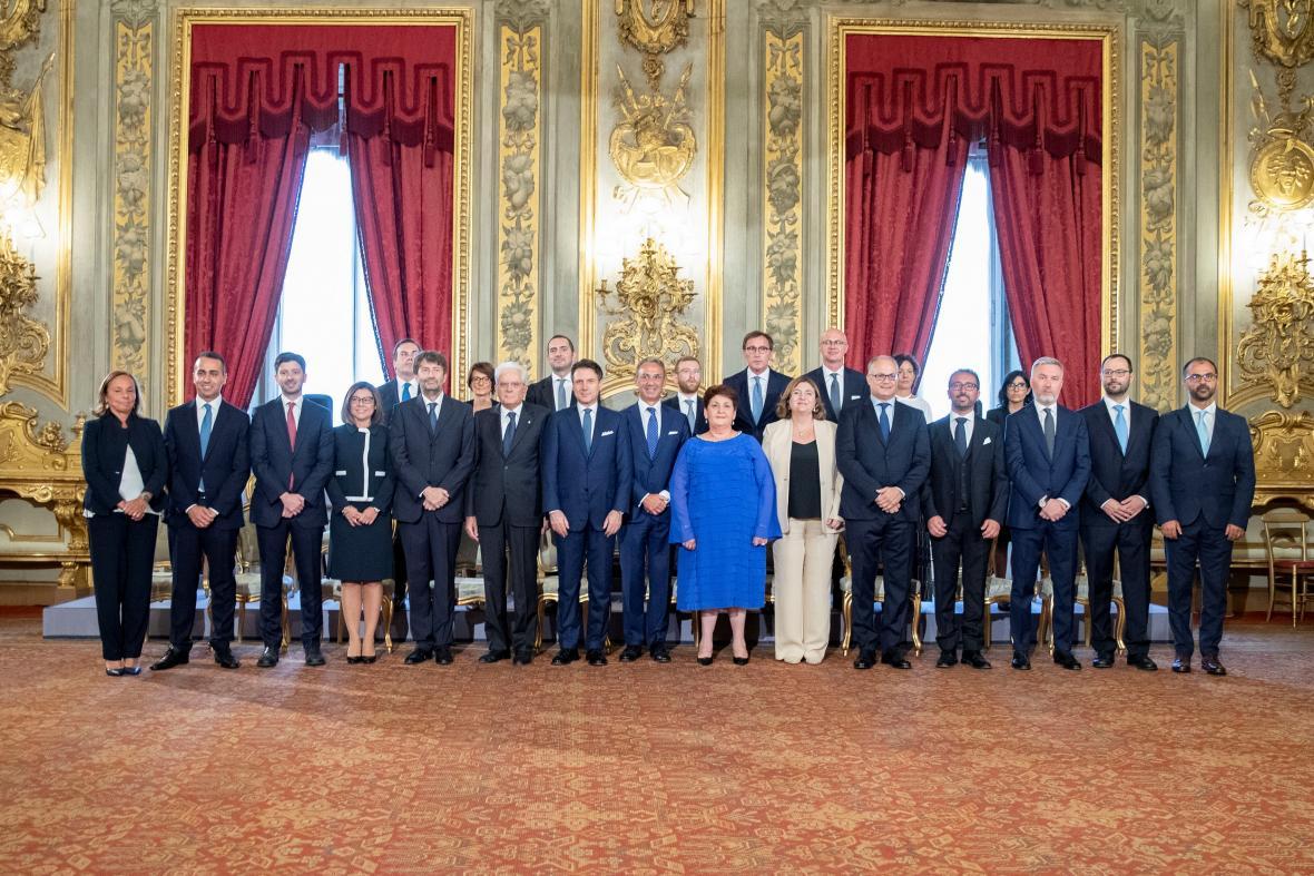 Nová italská vláda složila přísahu
