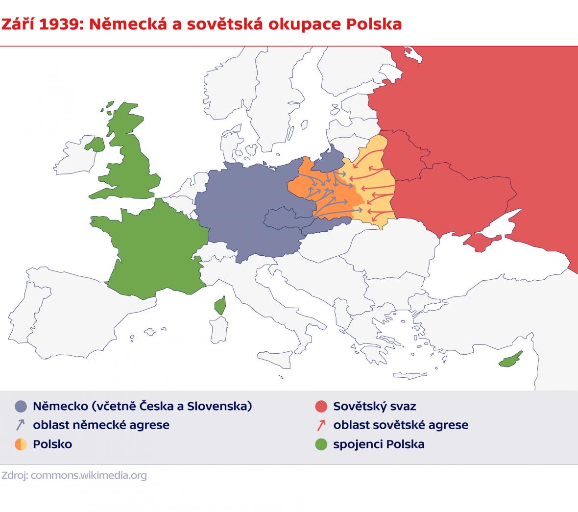 Září 1939: Německá a sovětská okupace Polska