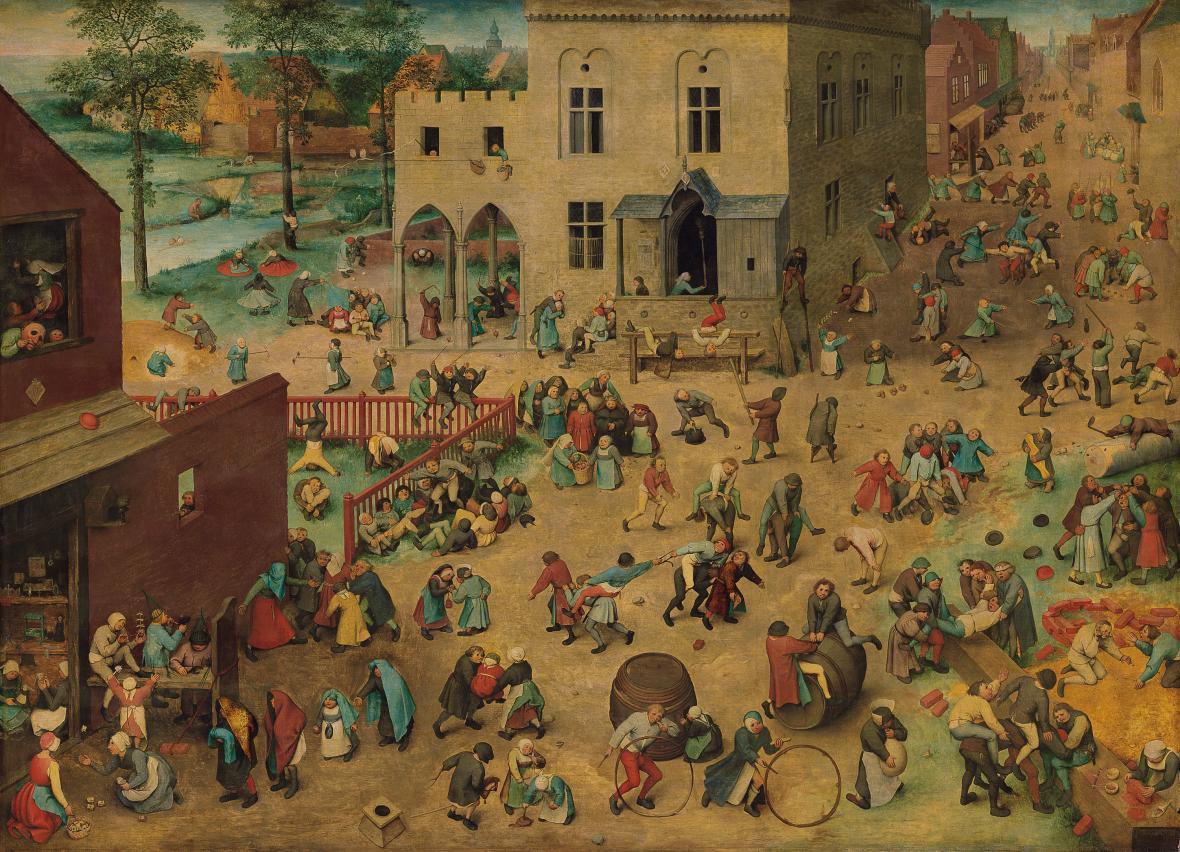 Pieter Brueghel starší / Dětské hry (1560)