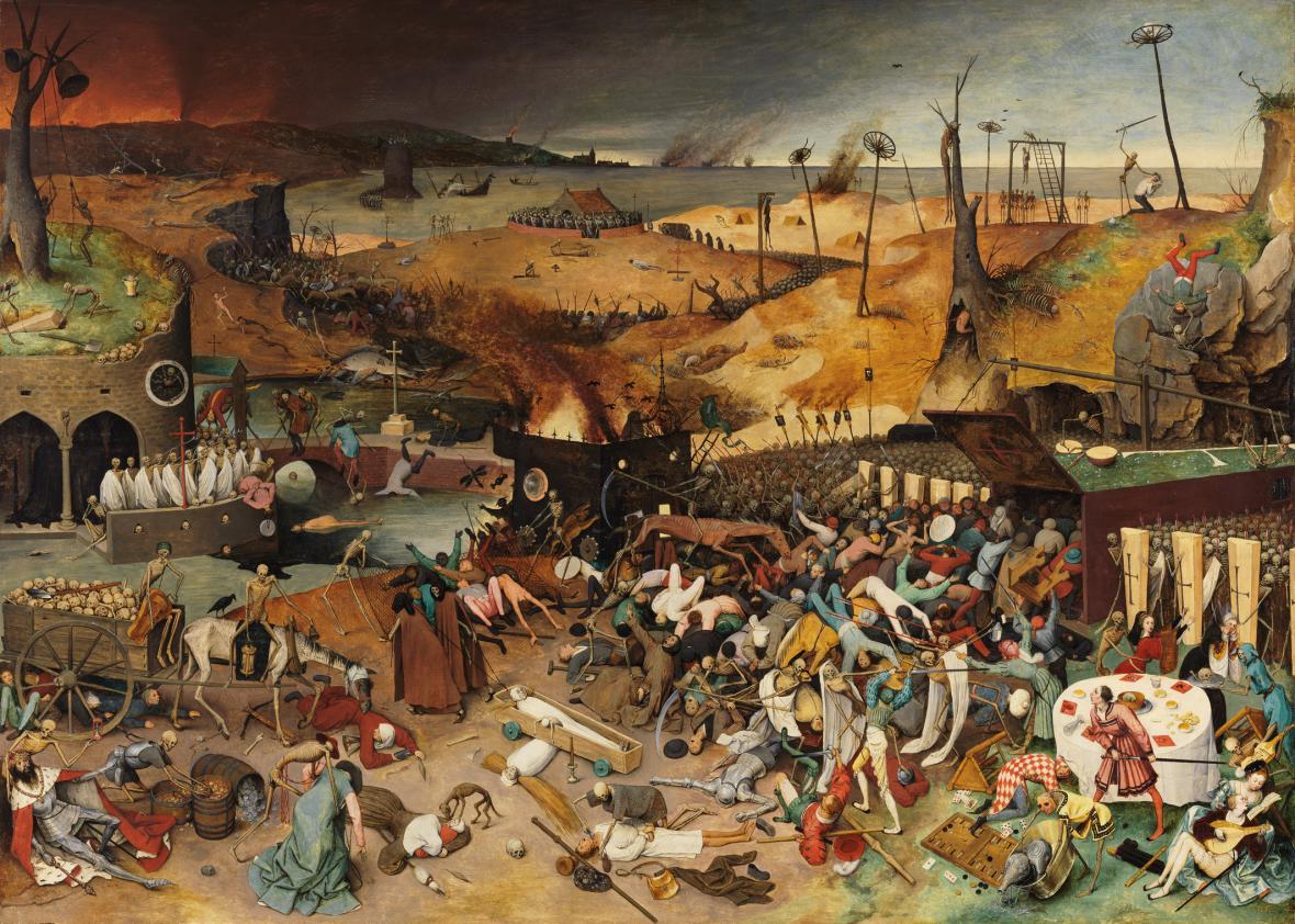 Pieter Brueghel starší / Triumf smrti (asi 1562)