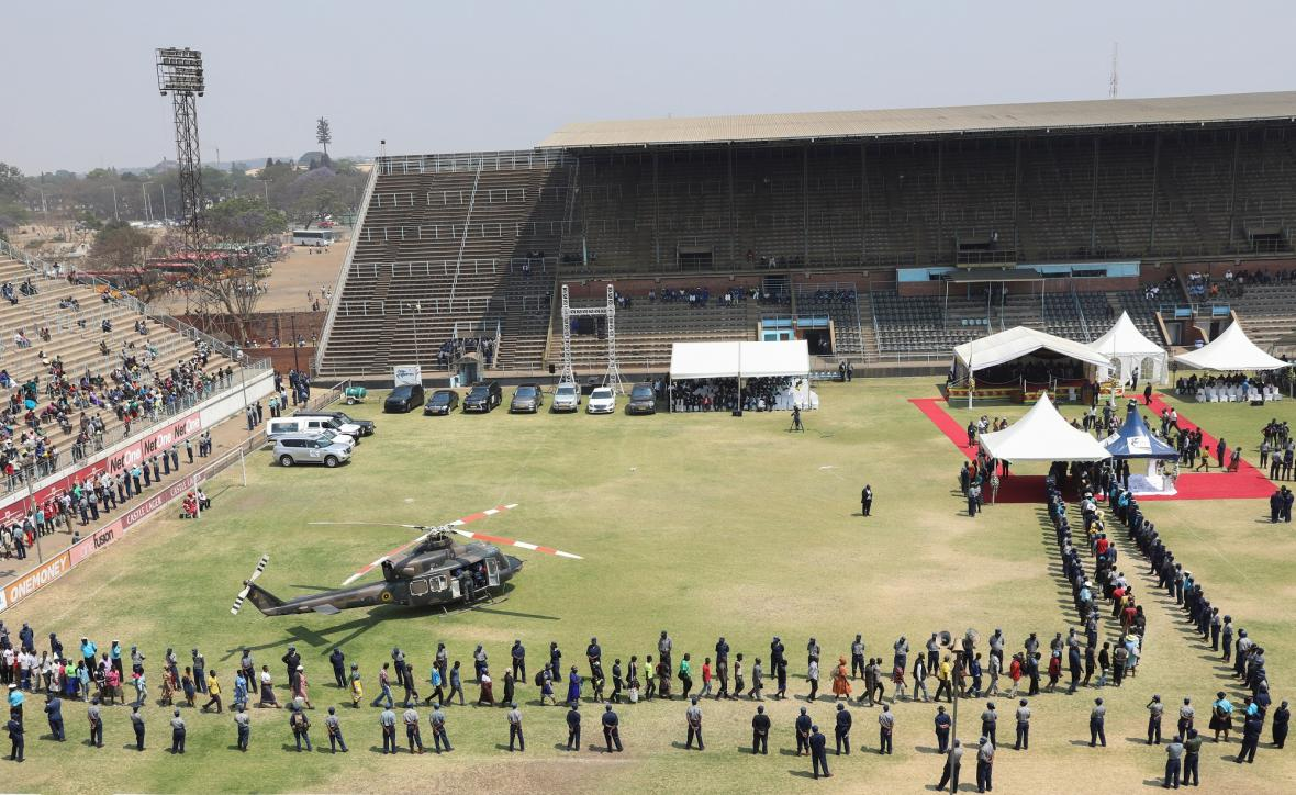 Pohřeb Roberta Mugabeho