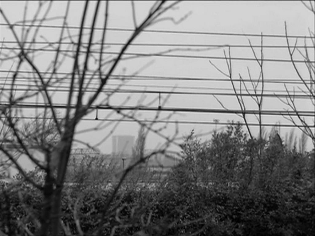 Manon de Boer / Dvakrát 4 minuty 33 sekund, 35mm/videonistalace, 2008