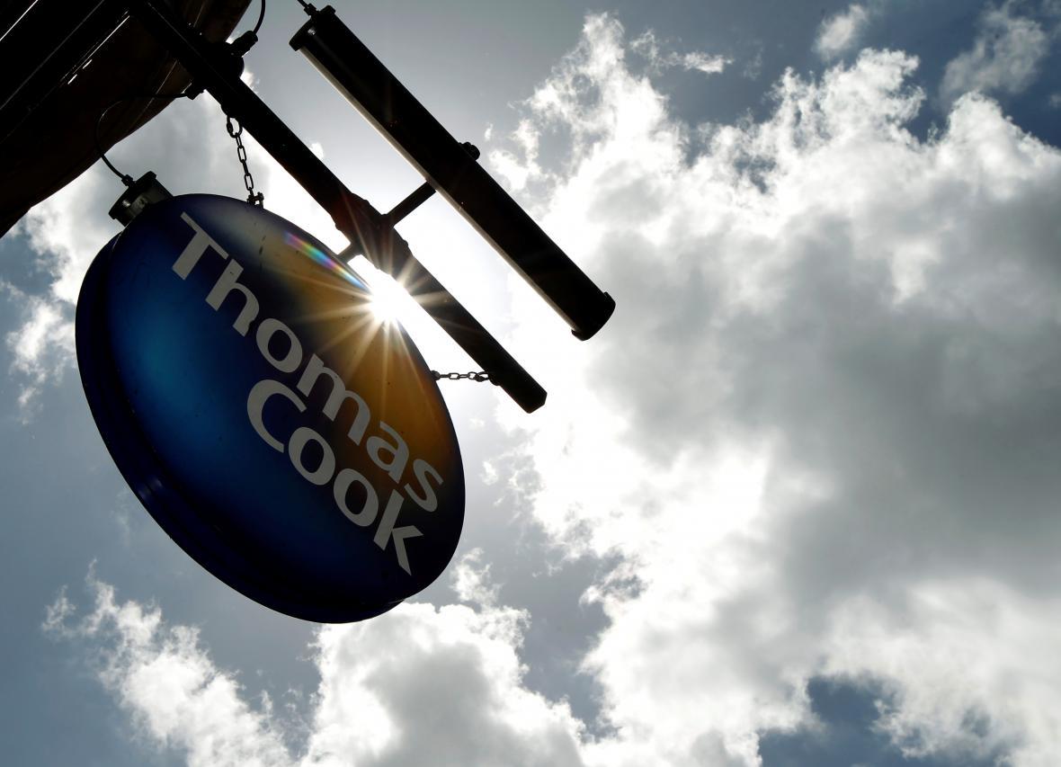 Logo cestovní kanceláře Thomas Cook