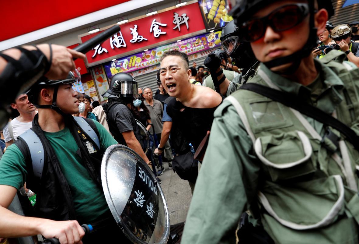 Protivládní protest v Hongkongu